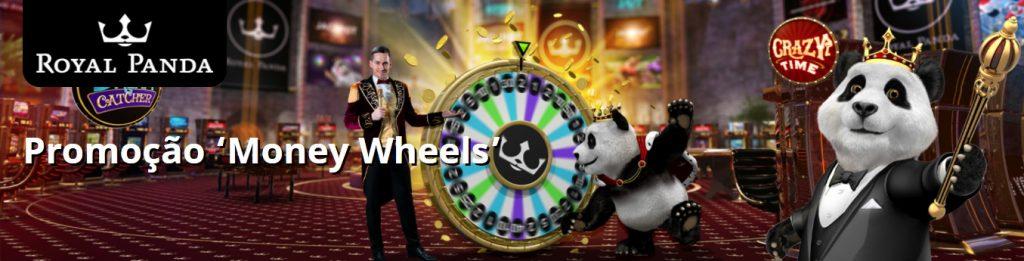 Royal Panda agita o final de mês com R$9 mil na última fase da promoção 'Money Wheels'