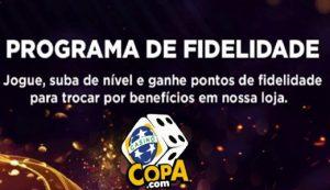 Casino Copa premia usuários mais presentes com vouchers e giros no Programa de fidelidade